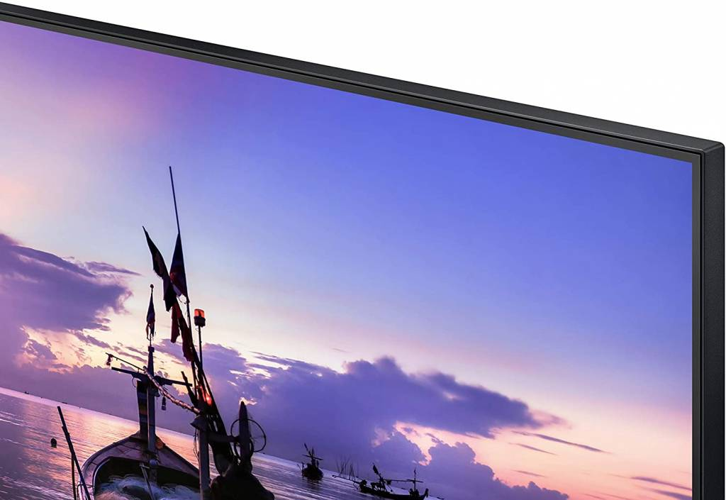 Samsung LF24T352FHWXXL with thin bezzel